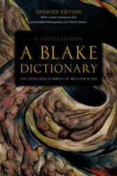 A Blake Dictionary by S. Foster Damon