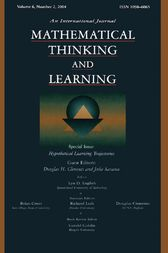 Hypothetical Learning Trajectories by Douglas H. Clements