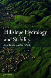 Hillslope Hydrology and Stability by Ning Lu