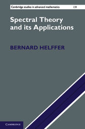 Spectral Theory and its Applications by Bernard Helffer