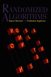Randomized Algorithms by Rajeev Motwani
