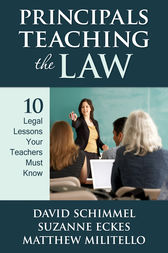 Principals Teaching the Law by David M. Schimmel