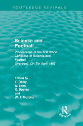 Science and Football (Routledge Revivals) by Tom Reilly