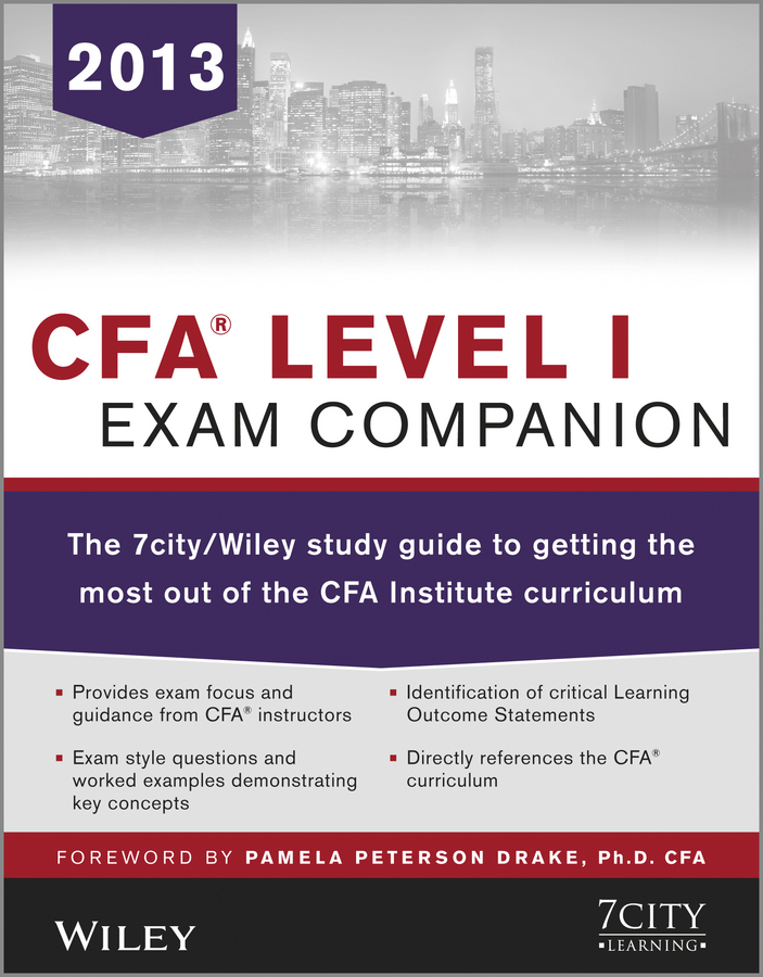Download Ebook CFA Level I Exam Companion by 7city Learning Pdf