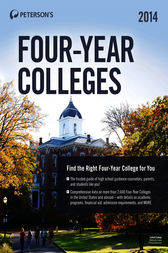 Four-Year Colleges 2014 by Peterson's