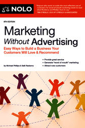 Marketing Without Advertising by Michael Phillips