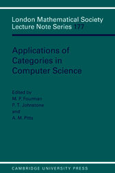 Applications of Categories in Computer Science by M. P. Fourman