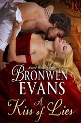 A Kiss of Lies by Bronwen Evans
