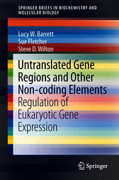 Untranslated Gene Regions and Other Non-coding Elements by Lucy W. Barrett