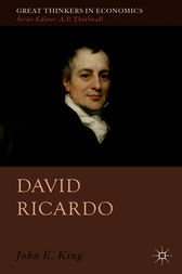 a biography and life work of david ricardo - david ricardo, 1821 money is neither a material to work upon nor a tool to work with conveniences, and enjoyments of human life.