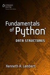 Fundamentals of Python by Kenneth A. Lambert