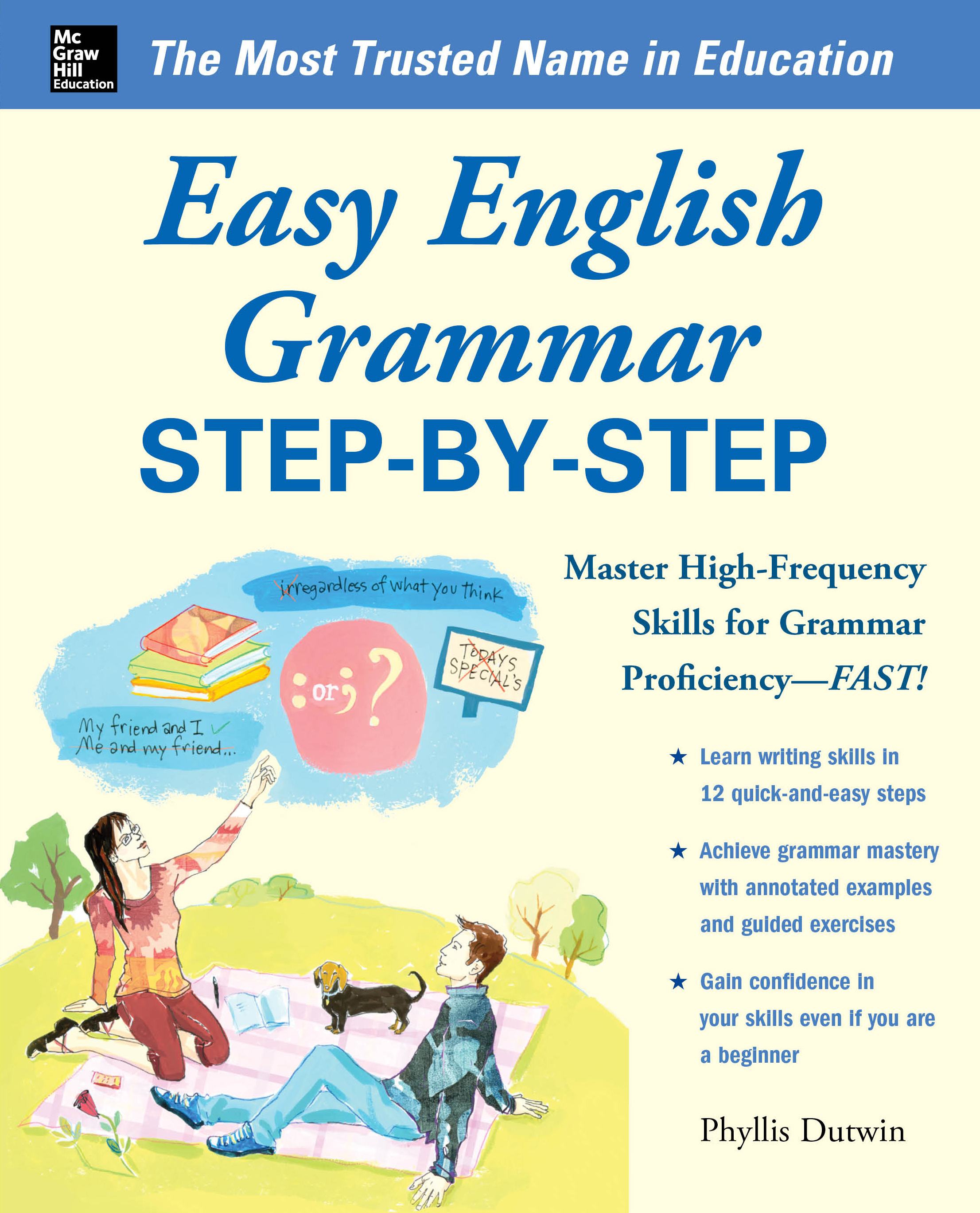 Download Ebook Easy English Grammar Step-by-Step by Phyllis Dutwin Pdf