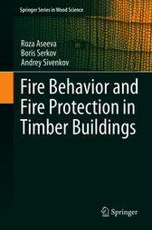 Fire Behavior and Fire Protection in Timber Buildings by Roza Aseeva