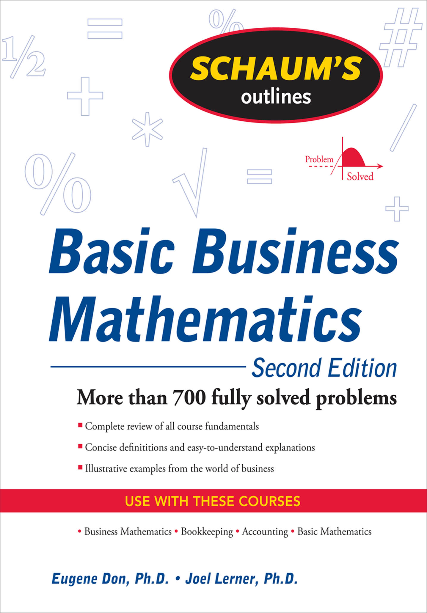 Download Ebook Schaum's Outline of Basic Business Mathematics, 2ed (2nd ed.) by Eugene Don Pdf