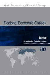Regional Economic Outlook: Europe (November 2007) by International Monetary Fund. European Dept.