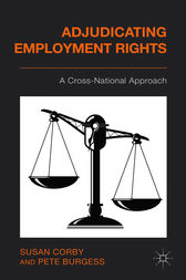 Adjudicating Employment Rights by Susan Corby