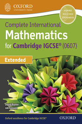 International Maths for Cambridge IGCSE Extended