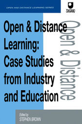 Open and Distance Learning by Stephen Brown