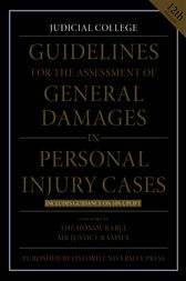 Judicial College Guidelines >> Guidelines For The Assessment Of General Damages In Personal Injury Cases 12th Ed
