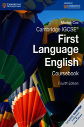 Cambridge IGCSE First Language English Courswork Ebook by Marian Cox