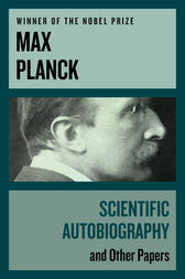 Scientific Autobiography by Max Planck