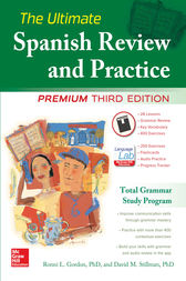 The Ultimate Spanish Review and Practice, 3rd Ed. by Ronni L. Gordon