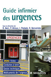 Guide infirmier des urgences by Bernard Marc