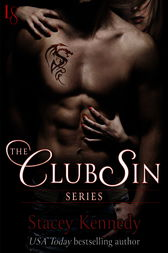 The Club Sin Series 4-Book Bundle: Claimed, Bared, Desired, Freed