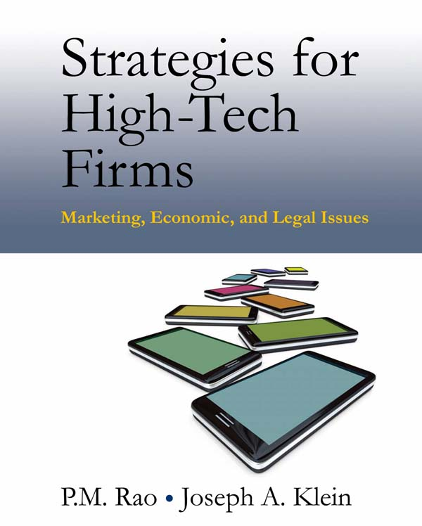 Download Ebook Strategies for High-Tech Firms by P.M. Rao Pdf