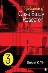 Applications of Case Study Research by Robert K. Yin