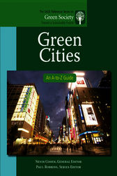 Green Cities by Nevin Cohen