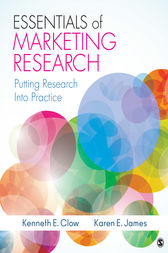 Essentials of Marketing Research by Kenneth E. Clow
