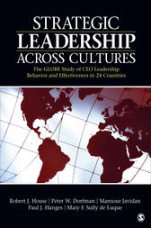 Strategic Leadership Across Cultures by Robert J. House