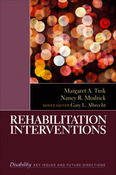Rehabilitation Interventions by Margaret A. Turk