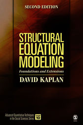 Structural Equation Modeling by David W. Kaplan