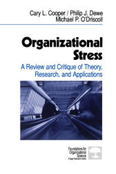 Organizational Stress by Cary P. Cooper