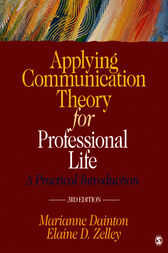 Applying communication theory for professional life ebook by applying communication theory for professional life by marianne dainton buy this ebook fandeluxe Choice Image