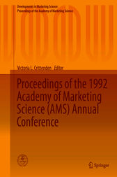 Proceedings of the 1992 Academy of Marketing Science (AMS) Annual Conference