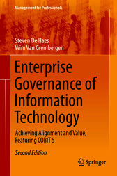 Enterprise Governance of Information Technology by Steven De Haes