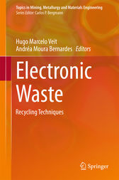 Electronic Waste: Recycling Techniques