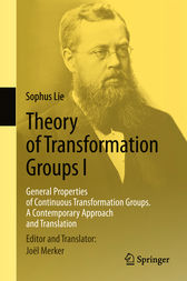 Theory of Transformation Groups I by Sophus Lie