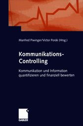Kommunikations-Controlling by Manfred Piwinger