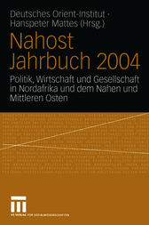 Nahost Jahrbuch 2004 by Hanspeter Mattes