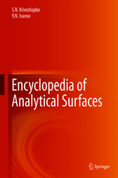 Encyclopedia of Analytical Surfaces by S.N. Krivoshapko