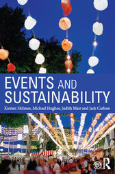 Events and Sustainability by Kirsten Holmes