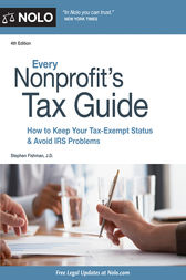 Every Nonprofit's Tax Guide by Stephen Fishman