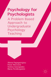 Psychology for Psychologists by Alexia Papageorgiou