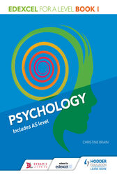 Edexcel Psychology for A Level Book 1 by Christine Brain