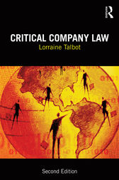 Critical Company Law by Lorraine Talbot