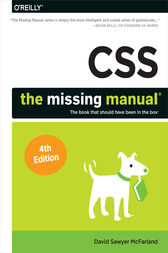 CSS: The Missing Manual by David Sawyer McFarland